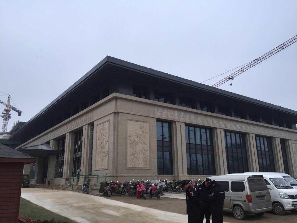 永城汉宫酒店铝单板工程
