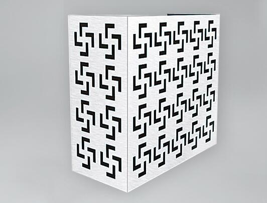 镂空铝单板柱子