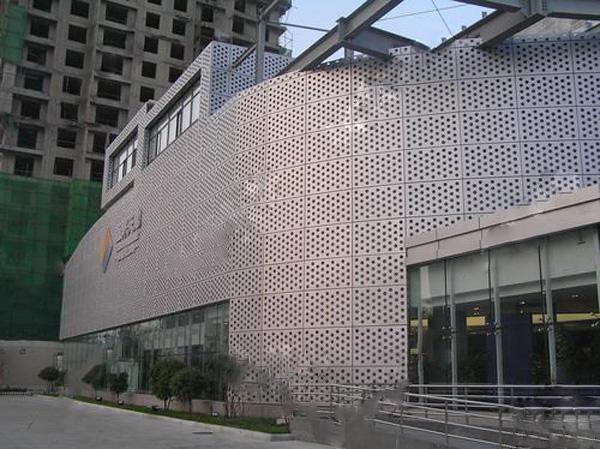 铝单板酒店外墙改造