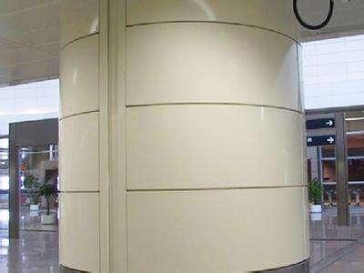 铝单板包柱雕花