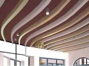 条形铝单板吊顶