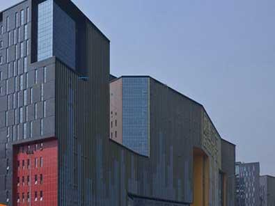 酒店大厦氟碳铝单板幕墙